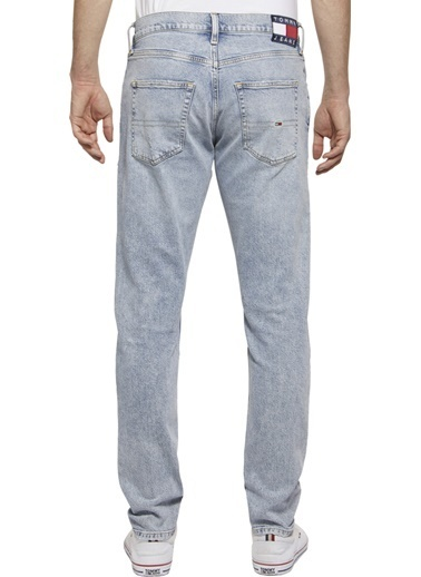 Tommy Hilfiger Erkek Modern Tapered Tj 1 Jean Pantolon DM0DM06621 Mavi